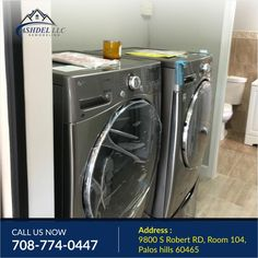 Ashdel LLC- Most people agree that #washing🤩🚮, #drying and folding their clothes is one of the worst chores ever. And we get it done,Good thing these organizers are designed to streamline the process and make this job just a little bit easier Our experts will help you. Call us today for a free estimate - 📲708-774-0447. Visit us at www.ashdelremodeling.com We Got It, Just A Little, Getting Things Done, Organizers, Laundry Room, Remodeling, Home Appliances, Organization, People