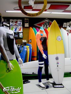 Surf & Bodyboard in Toxicworld Boardshop