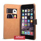 Jellibean Apple iPhone 6 Genuine Leather Wallet Case Cover  Screen Protector #February