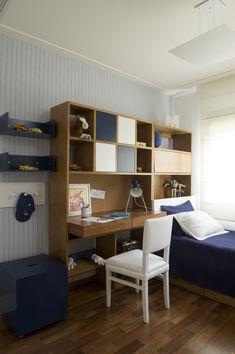 Apartamento em tons suaves