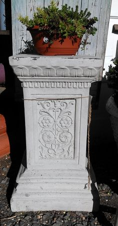 Plynth or pedestal ...we have all different sizes and shapes.