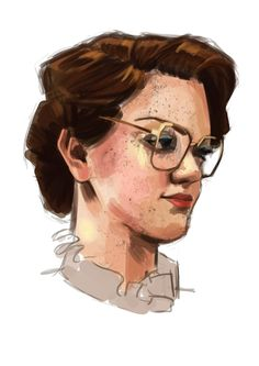 Poor Barb :c (Stranger Things art by Camiiw)