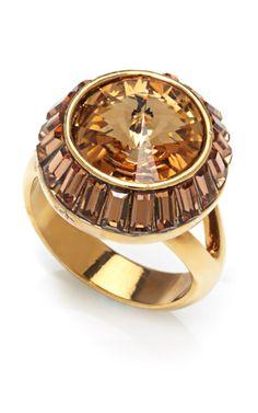 Zelda Cocktail Ring by House of Lavande for Preorder on Moda Operandi