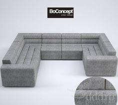 SmartVille from BoConcept - sofa/sectional/120 options