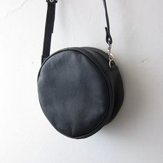 Olive Round Bag (Handmade to order). $35.00 I think little round purses are the epitome of summertime casual right now. Would take this in nude or even in cowhide, but the mint is so sweet and refreshing.