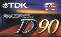 TDK Dynamic C90 (7 pack) by TDK. $20.00. 90 minute Normal bias recording tape (package of 7 tapes)