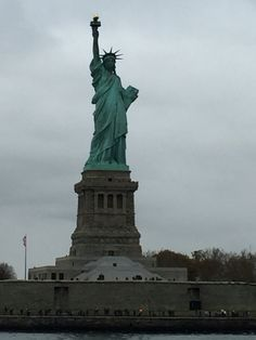 The statue of liberty .  November 2015