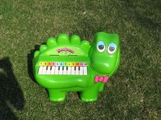 pianosaurus! I never had one. But I found one at a thrift store and bought it for my boys.