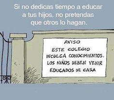 #educación ¿Qué opinas?