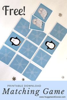 Celebrate winter with this fast and easy arctic themed tot school unit featuring a snowy sensory bin, crafts and FREE Printable matching game! Artic Animals, Winter Crafts For Kids, Preschool Winter, Winter Activities, Polo Norte, Preschool Themes, Polar Animals Preschool Crafts, Animal Crafts, Tot School