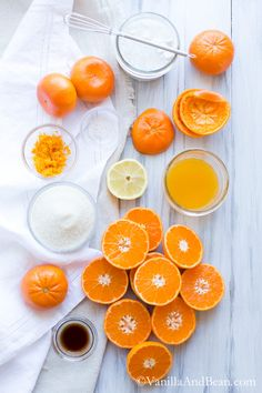 Orange Sherbet {Vegan}   Vanilla And Bean