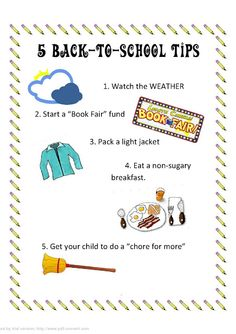 5 Back-to-School Tips for Moms