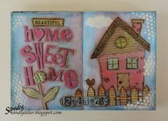 """My """"Crafty"""" Life on the Internet: Home Sweet Home for A Vintage Journey"""