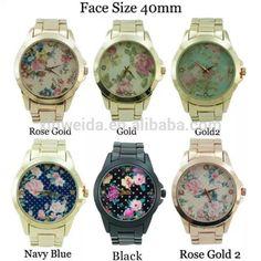 Famoso top 10 ginebra reloj de la marca de oro para mujer de la aleación japón mvmt reloj