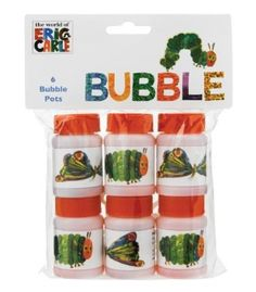 Amazon.com: Kids Birthday Party Supplies & Decorations Party Favor Eric Carle Very Hungry Caterpillar 6 Count: Toys & Games