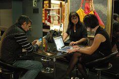 Comunicando ON el evento de promoción del Patronato de Turismo de Teruel en Bilbao el pasado viernes 9 de noviembre (Hotel Ercilla)