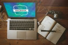 Mockup Macbook Pro 4 by caiocall on Creative Market