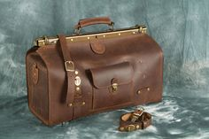 FREE SHIPPING travel bag brown travel bag leather от LeatherVM