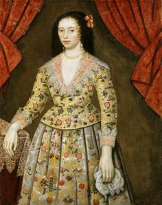 ELIZABETH CRAVEN, LADY POWIS (1600-62) AS A GIRL, a portrait at Powis Castle post-conservation, in the Gateway Room -- Powis Castle & Garden -- High quality art prints, canvases, postcards -- National Trust Prints