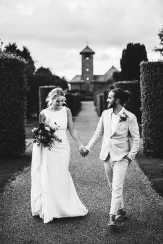 Black and white wedding photo, casual bride and groom Casual Bride, Photography Portfolio, Wedding Photos, Groom, Black And White, Wedding Dresses, Fashion, Black White, Moda