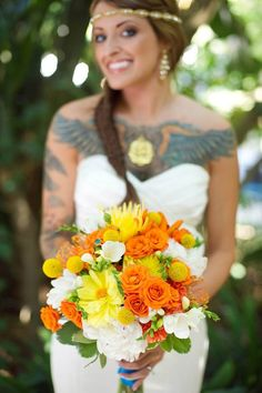 Bride tattoo gallery (50-100) #bride #tattoo