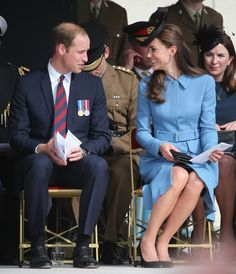 Kate Middleton Photos: The 70th Anniversary of D-Day Landings Commemorated