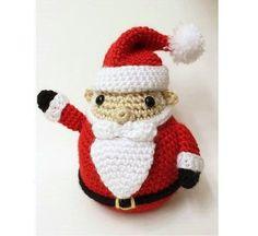 santa crochet pattern-merry christmas