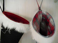 Moski: Julestrømper Christmas Craft Projects, Crafts To Make, Mini