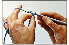 Learn to crochet step 6 perhaps one day I will stop pinning and start crocheting.