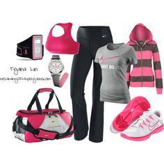 """""""Heading to the Gym"""" by bellababy1324 on Polyvore"""