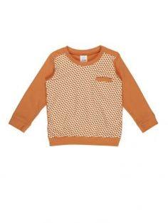 Dis Une Couleur Shirt Ticassin orange