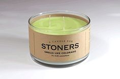 A Candle for Stoners 17 oz. - BEST SELLER! by Whiskey River Soap Co. It's 4:20 somewhere.... Of course it's always 4:20 in Colorado. But for the rest of us, it's still shockingly illegal to reek of a