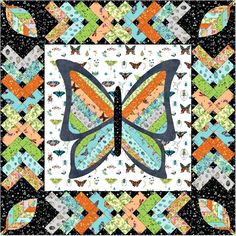 Windham Fabrics Curio by Betty Olmsted All A Flutter Quilt Kit. Hancocks of Paducah offers a wide selection of Quilt Kit by Windham Fabrics Cotton Quilting Fabric, Fabric Art, Hancocks Of Paducah, Andover Fabrics, Windham Fabrics, Diamond Quilt, English Paper Piecing, Quilt Kits, Quilt Patterns Free