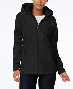 Waterproof yet breathable, this stylish jacket from The North Face keeps the adventure going in any weather! | Shell & lining: polyester; lower lining: nylon | Machine Washable | Imported | Stand coll