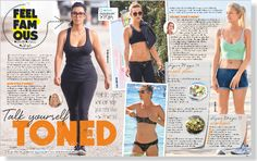 Talk Yourself Toned. Clipped from FAMOUS using Netpage.