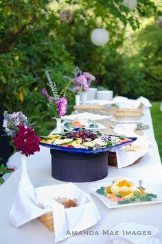 wedding food Portland Oregon Wedding Photographer Crystal Springs