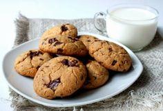 Кулинарные рецепты : Быстрое печенье с кусочками шоколада за 15 минут