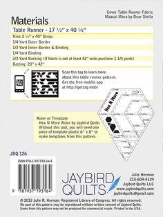 Braided Table Runner details| Jaybird Quilts