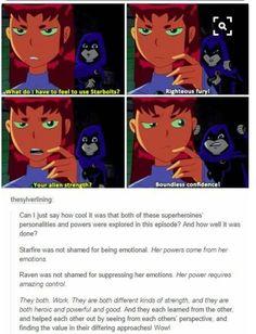 Female power Teen Titans Funny, Teen Titans Raven, Teen Titans Starfire, Teen Titans Go, Young Justice, Female Dc Characters, Teen Titans Characters, Marvel Comics, Marvel Dc