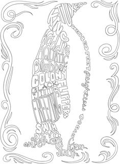 Free printable coloring page from Dover Publications acorn