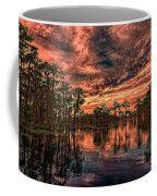 Majestic Cypress Paradise Sunset Coffee Mug by Bill And Deb Hayes