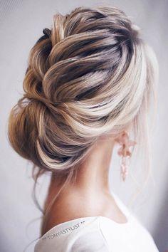 wedding hairstyles by tonyastylist braided swept back tonyastylist