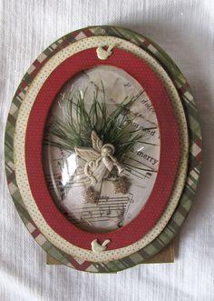 Dome card for Christmas