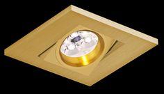Oprawa sufitowa oczko halogenowe BPM Care 1x50W MR16 złote 2000