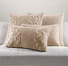 Pillows & Throws   Restoration Hardware