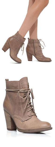 Taupe Boots //