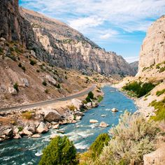 Wind River Canyon ne