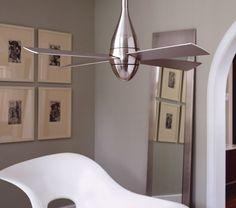 Teardrop Modern Ceiling Fan