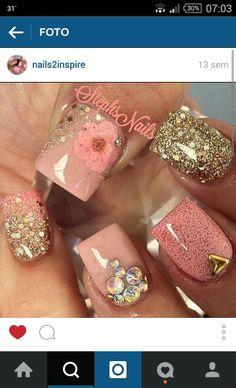 Uñas | Nail art design ideas | summer and fall nail art | short nails