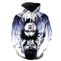 Naruto Kakashi and Gaara Cross Blue Hoodie. 100% Cotton and Polyester blend, custom made sublimation printed technique and hand sewn hoodies, t-shirts, and long sleeves clothing.   For our 3D clothing, unless there is a picture on the back for our product images, all of our 3D clothing are printed front and back with the same image.                 FREE Shipping  NOT SOLD IN STORES          Gender: Unisex  Material: Cotton, Polyester Spandex Blend Machine Washable and Dryer Safe     Be...